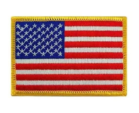 Large Usa Flag Morale Patch In 2020 Flag Patches Flag Usa Flag