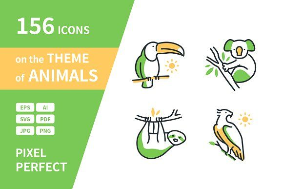 Animals Highlight Icons In 2020 Dog Breeds Icon Animals