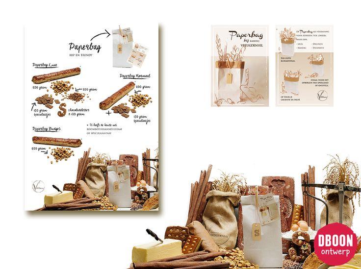 Bakery | Sinterklaas | Zwarte Piet | Pepernoten | Paperbag | unieke ontwerpen | | Westland | Grafisch vormgeven | dboon ontwerp bakkerij vreugdenhil