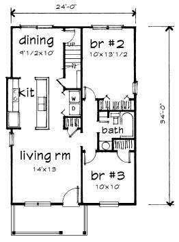 141 best my future house blueprint ideas images on pinterest bungalow level one of plan 72717 malvernweather Images