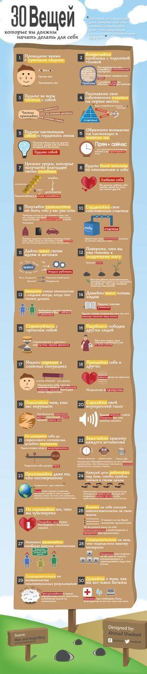 30 правил правильной жизни