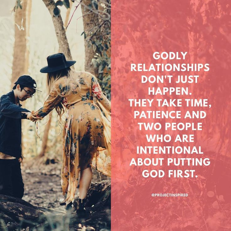 "putting god first in your dating relationship Part 1: how it's different from modern dating »  a particular relationship, your  first step should be to soberly reflect, before god, on your  he is interested in  pursuing, our single man's next step is to ""put some feelers out."