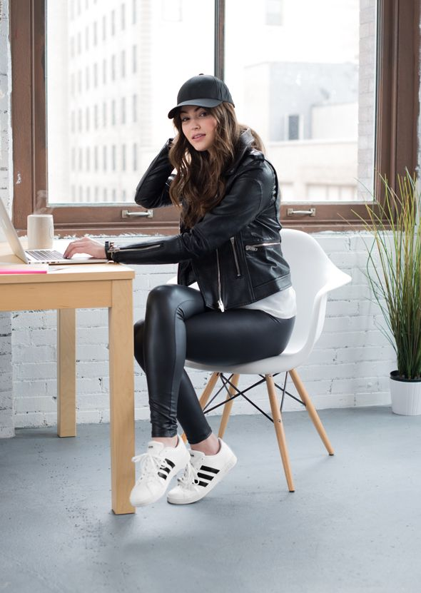 Just like a little black dress, a classic pair of sneaks always has a place in your closet. Right now, the LBD of sneakers is the adidas Baseline and it is THE shoe to be seen in *literally* everywhere. From casually running errands to a chic night out,...