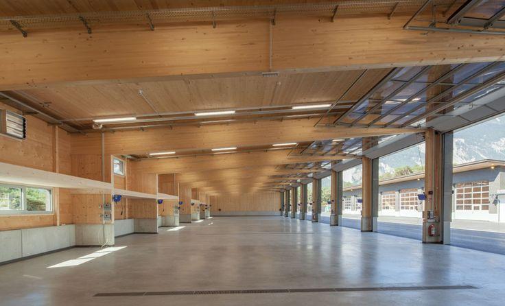 Binderholz GmbH - Straßenmeisterei, Haiming   Österreich - Binderholz GmbH - Holzindustrie - Fügen, Zillertal
