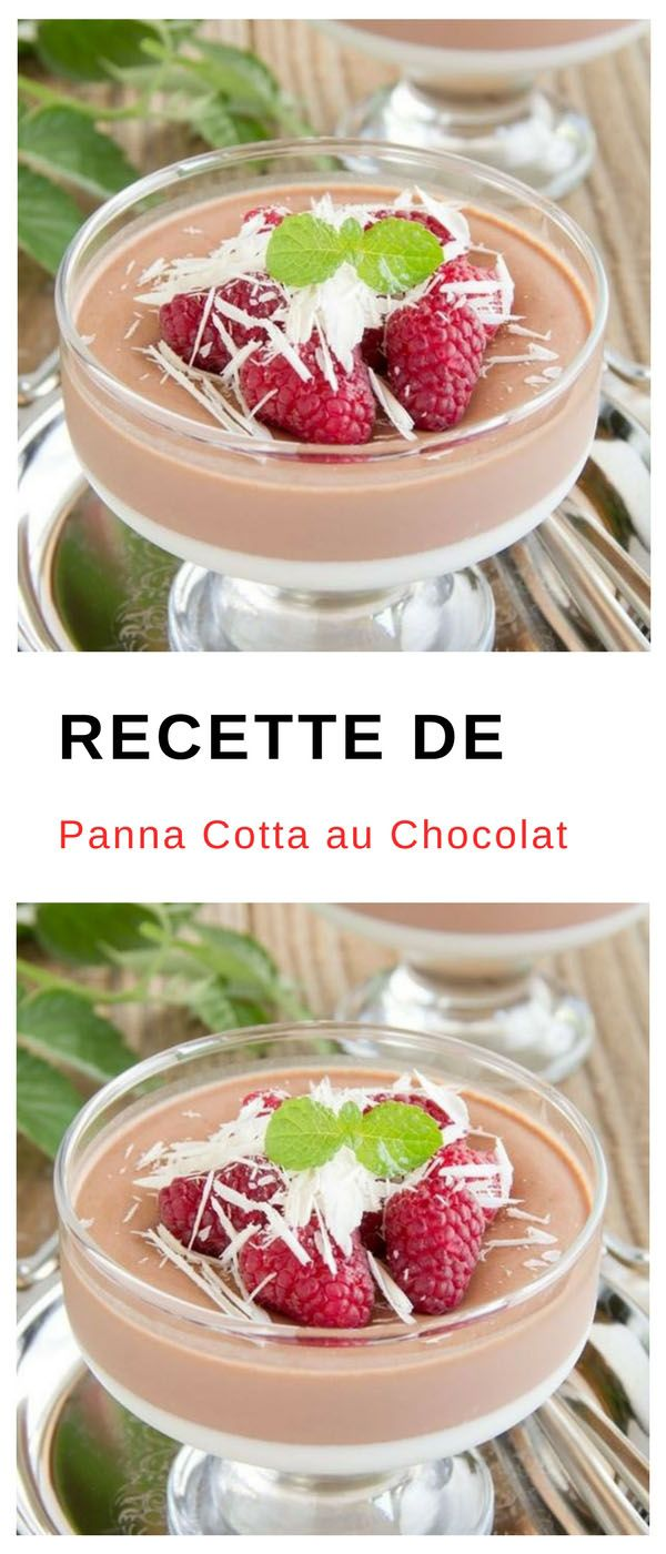 #pannacotta #chocolat