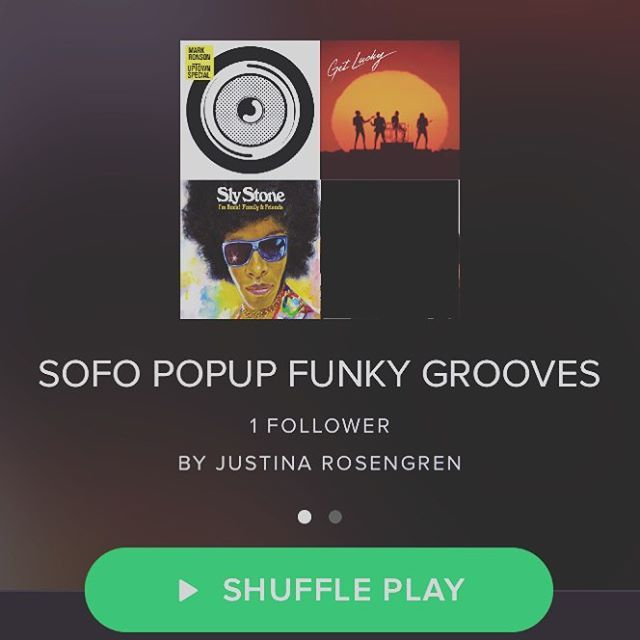 Small present for all of you: playlist Sofo POPUP funky grooves by our djjohan. #sofo #sofopopup #popupstore #popup #spotify #welikemusic #welikespotify #welikeplaylists #funkygroove #funky #groove #fashion #shoppinginstockholm #stockholm #södermalm #shoppingstockholm #shoppinginsofo