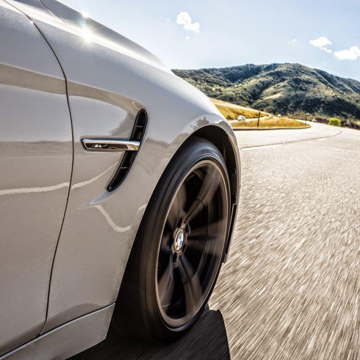 Dream BMW | White BMW M4 | BMW | M4 | BMW M series | Bimmer | BMW USA | Rims | Dream Car | car photography | Schomp BMW