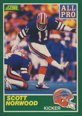 Scott Norwood ('82) for a short time ranked as the top scorer in Buffalo Bills history, a key part of dominant NFL teams in the late 80s and early 90s.  He connected for 133 field goals in his NFL career and reached the Pro Bowl in 1988.