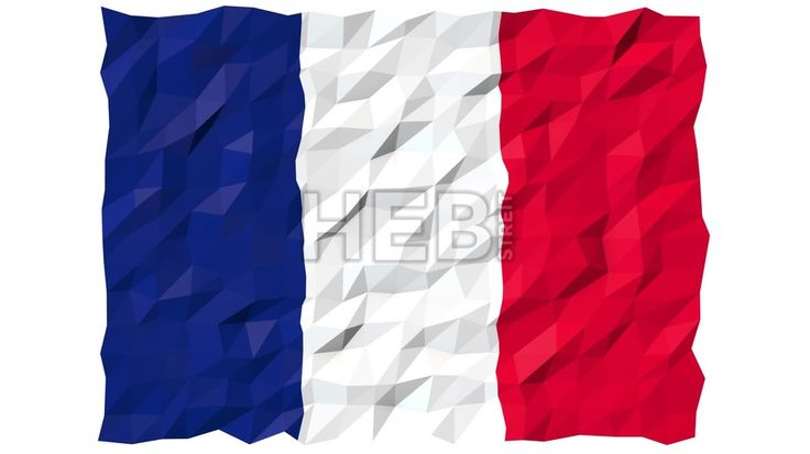 Flag of Saint Barthélemy 3D Wallpaper Animation, National Symbol, Seamless Looping Footage... ... by #Hebstreit