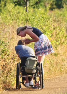 Great advice about accepting life in a wheelchair after a spinal cord injury (or anything else!)