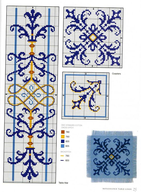 Gallery.ru / Фото #23 - Elizabethan Cross Stitch - Orlanda
