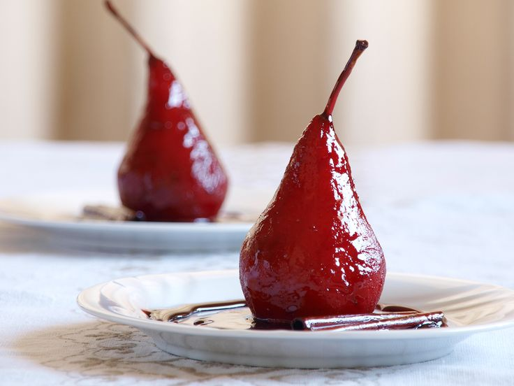 Red Wine Poached Pears is a dessert made out of pears poached in sweet red wine, sugar and spices syrup, it originated from a French dessert called Poire belle Hélène which is a nearly...