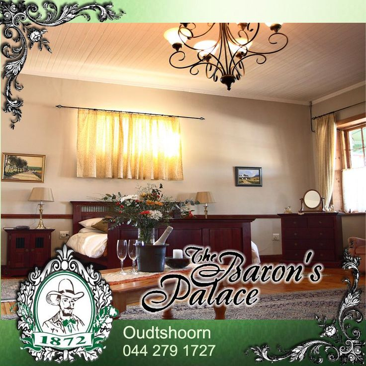 Looking for a romantic destination for your honeymoon? Contact us at Baron's Palace and experience the luxury of a bygone era whilst enjoying the pleasures of Oudtshoorn and surrounding area. #destinations #honeymoon #romance