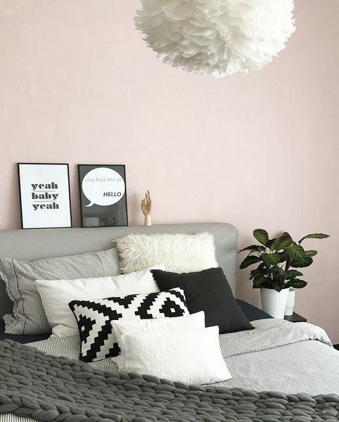 die besten 25 rosa schlafzimmer ideen auf pinterest. Black Bedroom Furniture Sets. Home Design Ideas