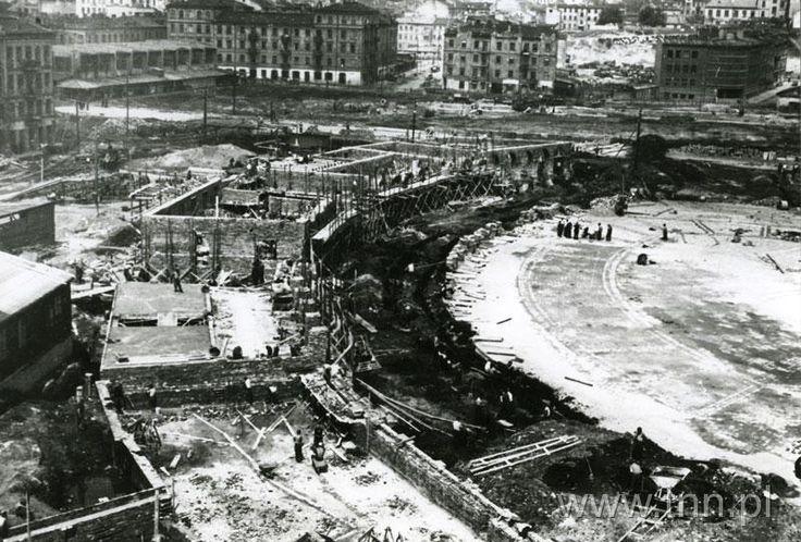 Budowa Placu Zamkowego w Lublinie