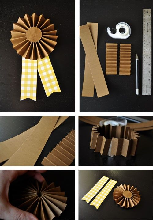 Love this idea, We have tons of RIBBONS, now I can make some of our own.