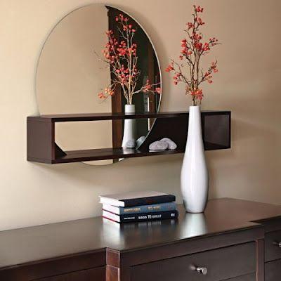 24 best Espejos decorados images on Pinterest Decorated mirrors