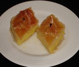 Galaktobouriko (Greek Vanilla Slice) by Helen Vogiatzakis on www.recipecommunity.com.au