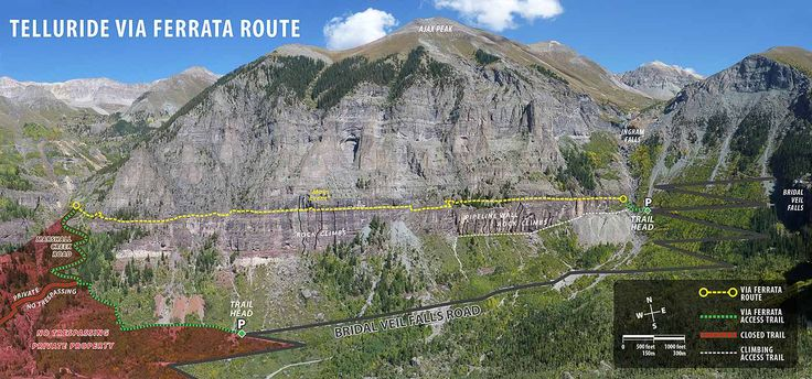 Telluride's Via Ferrata route is unique and has its own set of potential hazards. Safe and responsible use of proper equipment and techniques is a must.