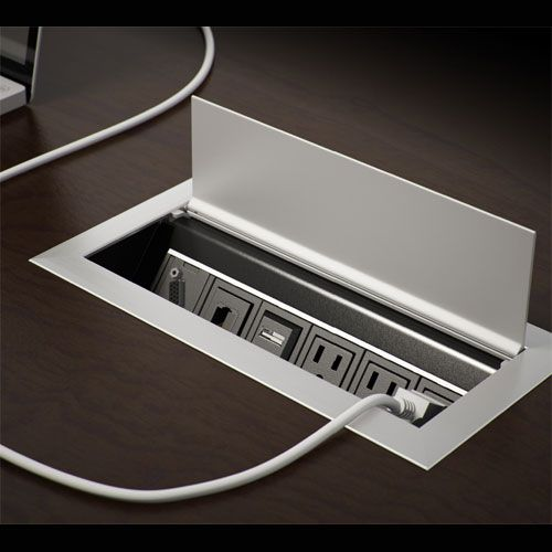 Cord Management | Pinterest | Ellora, Professional Look and Table Desk