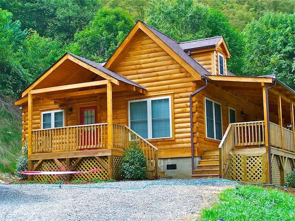 36 best blowing rock log home gallery images on pinterest for Modular lake homes