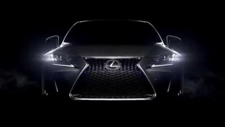 2017 Lexus IS facelift Official Video