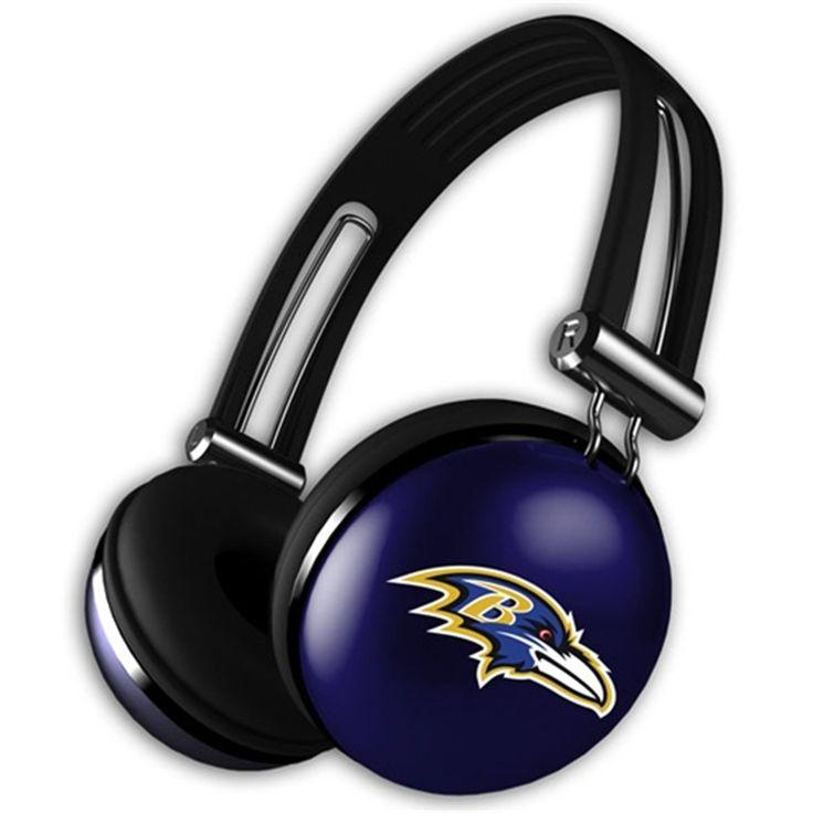 Baltimore Ravens Tough Bass Headphones