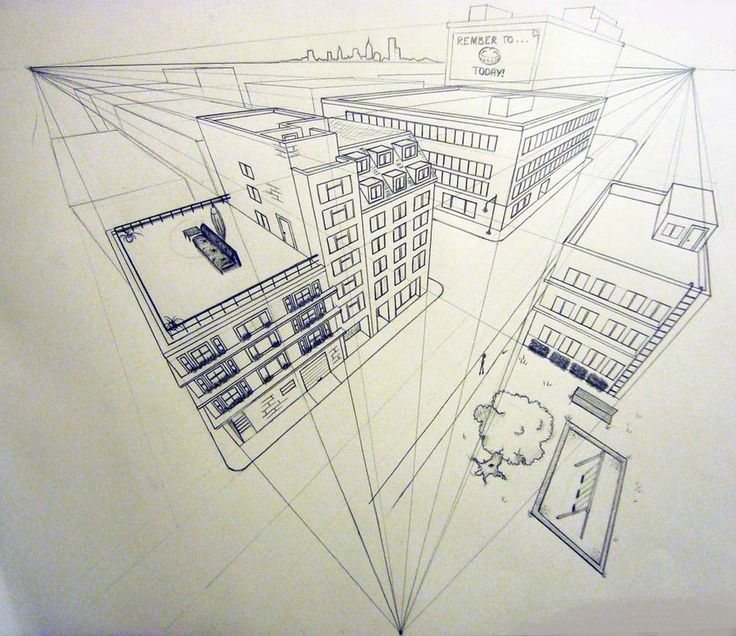 3 point perspective - Google Search