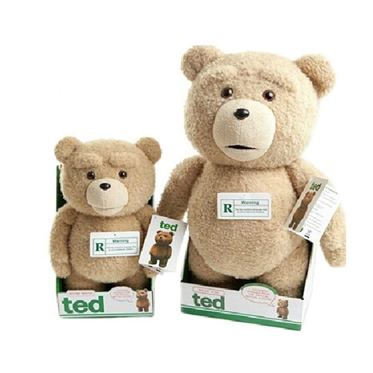 49.00$  Buy now - http://ali6os.worldwells.pw/go.php?t=32509003799 - Can Talking,Movie Teddy Bear Ted  Plush Toys  In diffent clothes Soft Stuffed Animals Ted Bear Plush Dolls