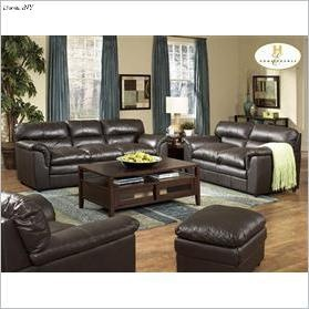 fine living room furniture brown leather living room set with sofa loveseat and chair