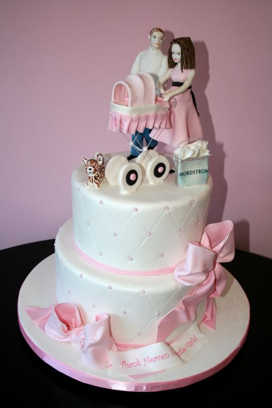 387 best Baby Shower Cakes images on Pinterest 2nd birthday
