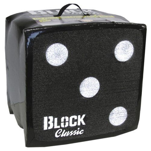 S4 Classic 18 Archery Block Target (18 x 18 x 16) by Block Targets. $68.27. The Block Classic is the original open-layered archery target.  The heat generated by the friction caused as the arrow slides between layers literally grabs and stops the arrow. This heat quickly dissipates, releasing the arrow.   The first archery target to offer both easy arrow removal and long target life, regardless of arrow tip.  Allows you to shoot broadheads/expandables.  The size is 18 inche...