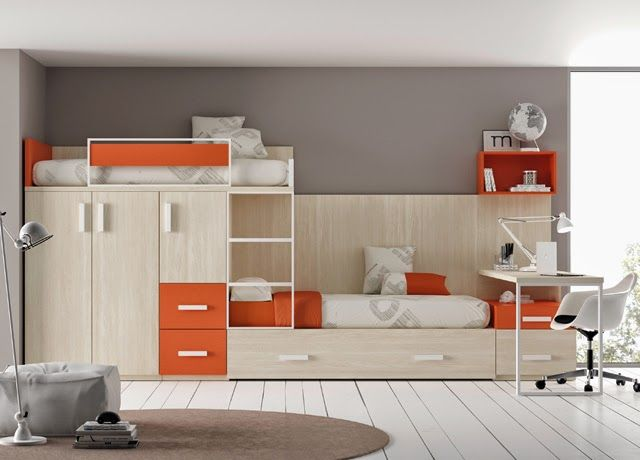 Dormitorios infantiles y juveniles para ni as ni os y - Mueble infantil madrid ...