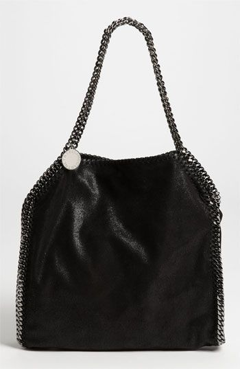 Stella McCartney 'Falabella - Small' Shaggy Deer Tote