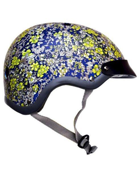 New Arrival: Midnight Floral Bike Helmet