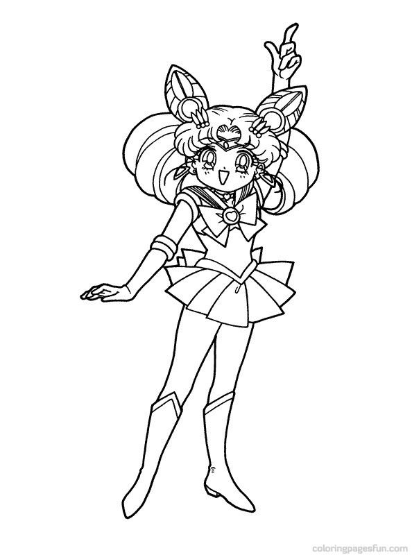 46 best Sailor Moon Coloring pages images on Pinterest Coloring
