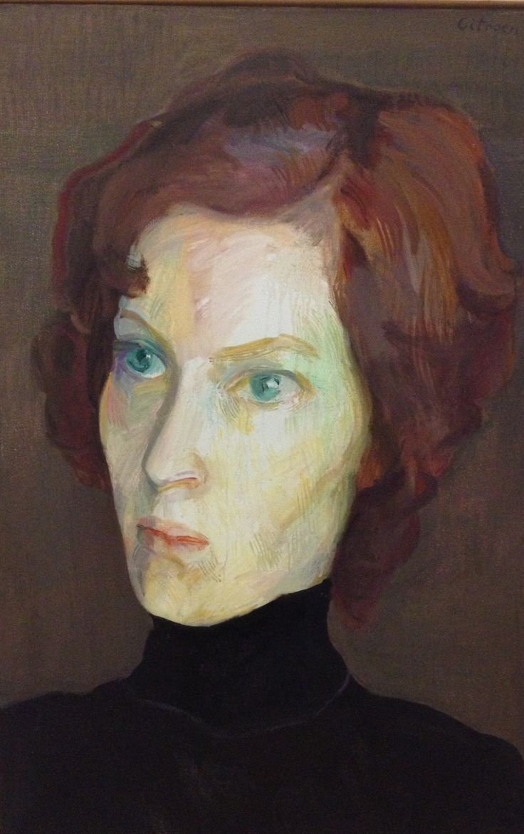Paul Citroen, Portrait of Marion, 1976-1977, oil on canvas