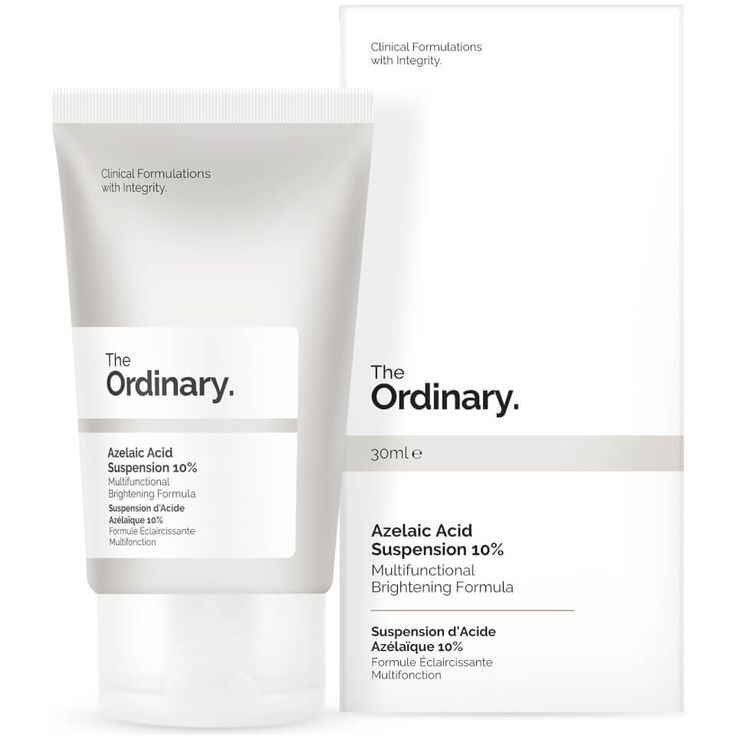 Buy The Ordinary Azelaic Acid Suspension 10% 30ml , luxury skincare, hair care, makeup and beauty products at Lookfantastic.com with Free Delivery.