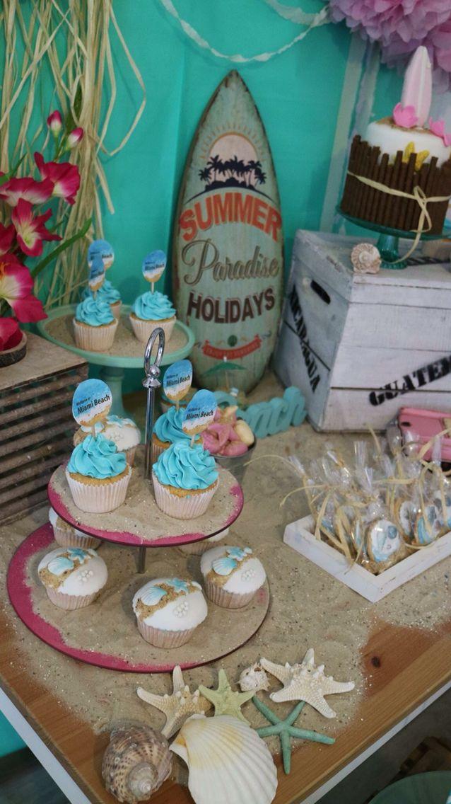 39 best Miami beach images on Pinterest Beach theme cupcakes