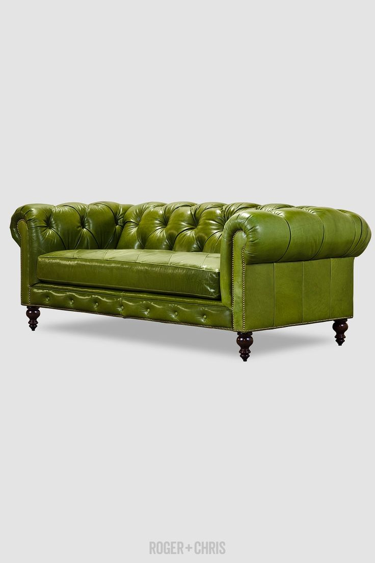Seater queen anne high back wing sofa uk manufactured antique green - 25 Best Ideas About Green Leather Sofas On Pinterest Green Living Room Sofas Sofa For Room And Velour Sofa