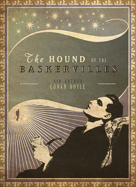 The Hound of the BaskervillesCovers Book, Complete Sex, Book Covers Design, Arthur Conan, Sherlock Holmes, Covers Art, Art Deco, Sir Arthur, Conan Doyle