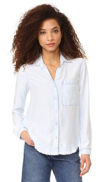 Bella Dahl Rounded Yoke Button Down