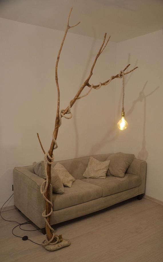10+ Stunning Rustic Living Room Floor Lamps