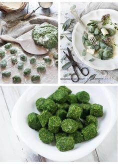 Gnocchi Verdi con patate e spinaci
