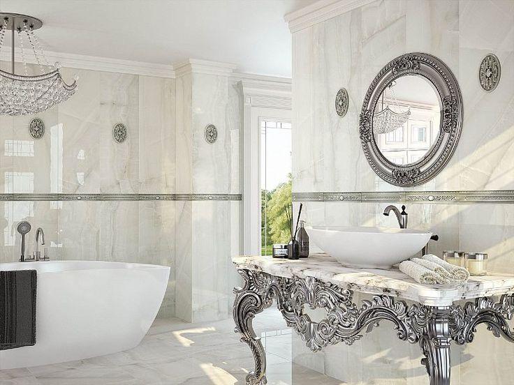 Dziś chcemy przedstawić Wam naprawdę niezwykłe płytki Dorex Saloni! Co jest w nich takiego niesamowitego? A no fakt, że pasują zarówno do wnętrz o mocno nowoczesnym charakterze, jak i do aranżacji inspirowanych pałacowym bogactwem.    #viverto #płytki #tiles #salon #pałac #nowoczesne #klasyczne #3d #niezwykłe #wow #tpłytki3d #3dtiles #awesome #wystrój #design #wnętreze #pomysł #idea #beautiful