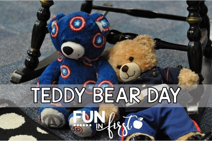 Teddy Bear Day is such a fun filled day in our classroom. The students complete many teddy bear themed activities throughout the day.