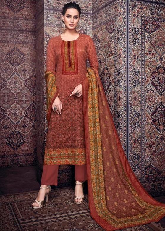 593c580129 Mumtaz Arts Nazrana Jam Silk Dress Material (10 pc catalog) | Mumtaz arts  Lawn suits Wholesale supplier mumbai and surat in 2019 | Dresses, Salwar  suits, ...