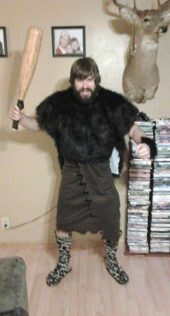 Caveman Dress Up Ideas : Diy caveman costume my projects pinterest