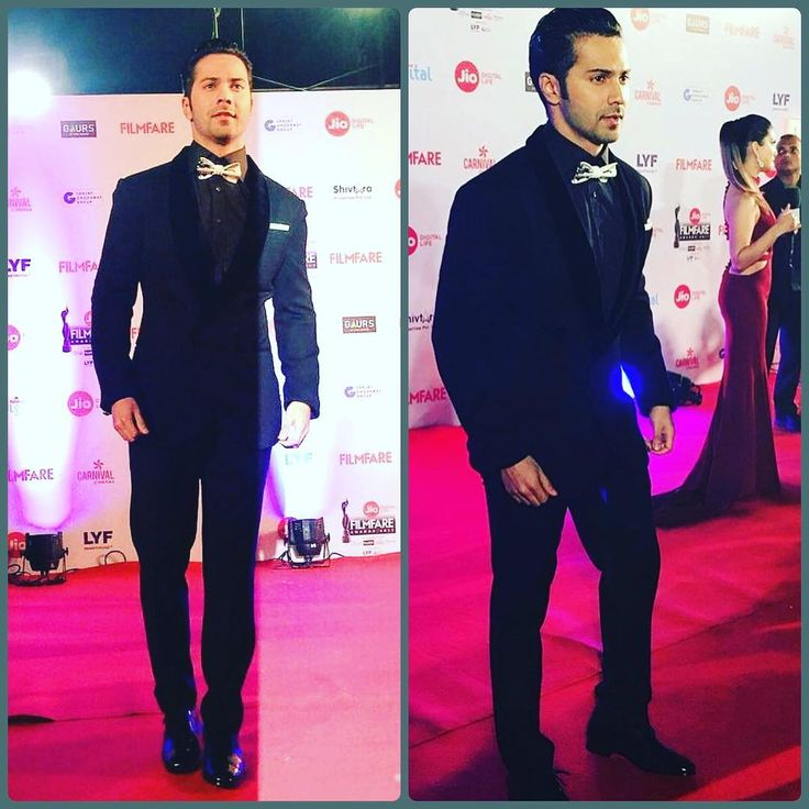 At the 2017 filmfare awards. The black lady is 62 years old but still partied till 4 in the morning.congratulations to all the w