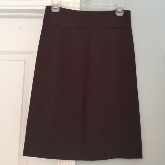 "NWT BCBG Maxazria Monica brown pencil skirt Never worn tags attached! True brown pencil skirt. Love love love but never found use for. 22"" L BCBGMaxAzria Skirts Pencil"